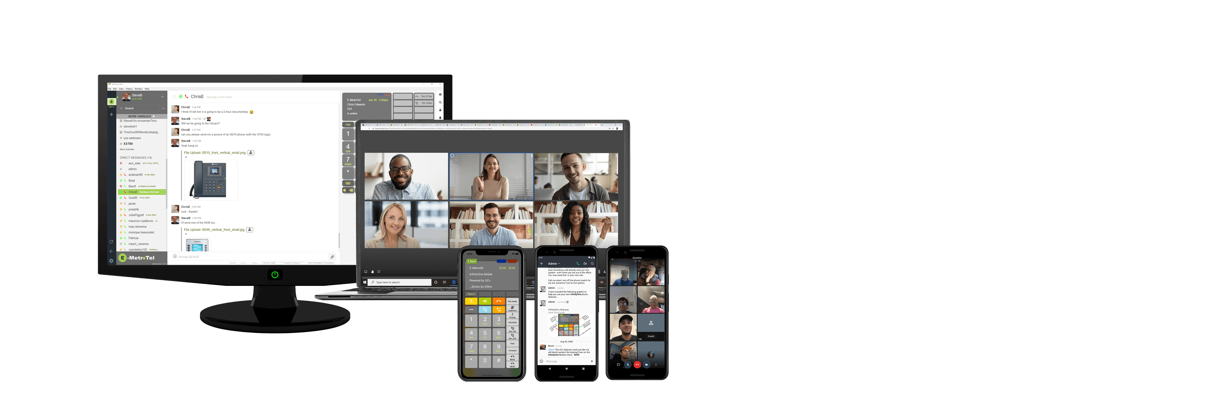 InfinityOne Mobility, Collaboration, Work From Home image