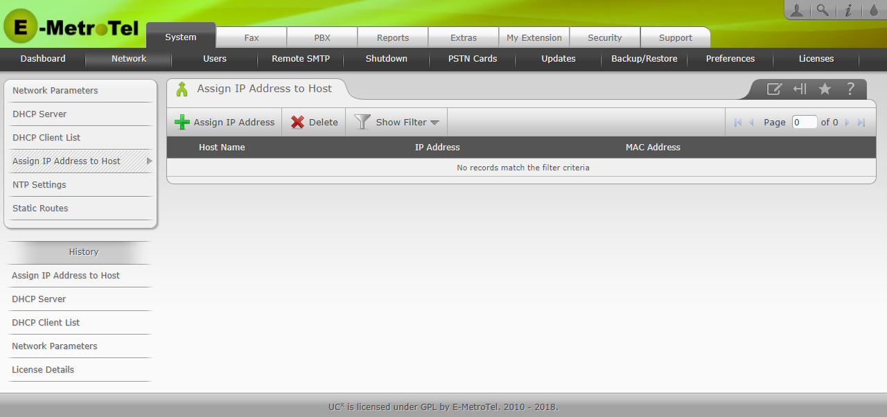 how to find host ip address